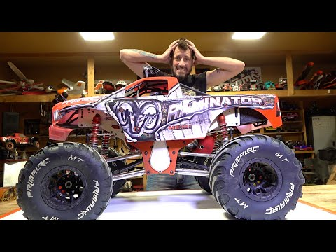 WHAT HAPPENED TO MY RAMINATOR MONSTER TRUCK? | RC 冒险