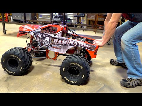 RUN AWAY RAMINATOR! MONSTER TMR PERFORMANCE Clutch, Engine & Pipe UPGRADE / INSTALL | RC ADVENTURES