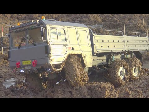 RC TRIAL 2020 AT THE HEAVY TERREAIN! MAN 6×6 AND HC 6 IN ACTION! RC IN MUD! RC ICE