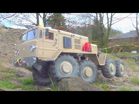 RC BC8 MAMMOTH AND FRIENDS IN ACTION! HEAVY TRIAL RUN 2020! RC SPECIAL VEHICLES!  RC TRIAL