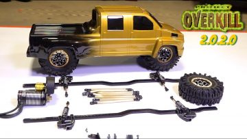 "PROJECT: ""OVERKILL"" 2020 mettre à jour – Pt 3 – Color, Tire Surprise, High KV Motor, Shocks 