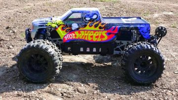 AVENTURES RC – HOT WHEELS SAVAGE FLUX HP on 6s LiPO – Électrique 1/8 Échelle 4×4 Monster Trucks