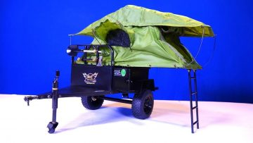 RC 冒险 – Bivouac 1/10 M.O.A.B FORT XL Camping & Offroad Tent Trailer distributed by RC4WD