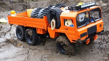 RC 冒险 – 6×6 Off Road Warrior (RC4WD BEAST 2)