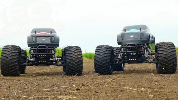 "AVENTURES RC – CEN ""GST-E COLOSSUS"" 4×4 Monster Trucks – Electric 1/8th Scale Bashing"