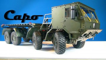 RC 冒险 – Full Metal Jacket – CAPO CD 15821 8×8 Extreme Off Road Military Truck – BV6