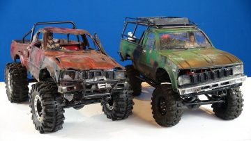"""RC ADVENTURES – """"Trail Finder 2"""" Toyota Hilux 4×4 RC Trucks (1/10th Scale Off-Road Trail Trucks)"""