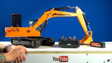 RC ADVENTURES – Powerful 1/12 Scale Earth Digger 4200XL RC Excavator (Hydraulic/Electric)