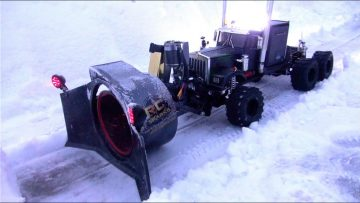 RC ΠΕΡΙΠΈΤΕΙΕς – Rotary Snow Plow / Snow Mover (Δοκιμή 1 – Night Time)