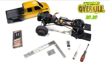 """PROJECT """"OVERKILL"""" 2020 – HOW to MAKE a DUAL SHOCK MOUNT for ANY TRAIL TRUCK (PT8)   RC EVENTYR"""