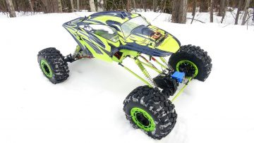 RC AVONTUREN – Huge Exceed RC MaxStone 1/5th Scale 4×4 Waterproof Crawler