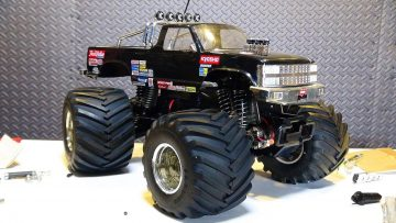 PRZYGODY RC – Vintage Kyosho USA 1, Electric 1/10th Scale Monster Truck 4×4 Repair