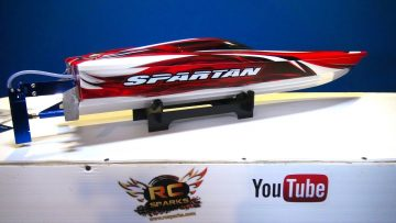AVENTURAS RC – Unboxing a Traxxas Spartan V-Hull Boat RTR (Quick Overview)