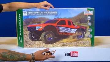 AVENTURES RC – Unboxing a Vaterra Ford Raptor Pre Runner 4WD Truck RTR w/ AVC Technology
