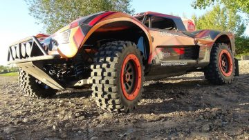 RC EVENTYR – Project LARGE 2.0 – First Start, Engine Break-in & Track – Custom Losi 5ive T 4×4
