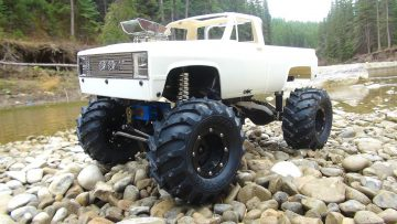 AVENTURES RC – the BEAST goes Chevy Style! Radio Control 4×4 Scale Trail Truck