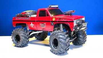 AVENTURES RC – 300lb Winch Line for the BEAST 4×4 1:10 scale Trail Truck