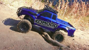 AVENTURAS RC – G Made Komodo 4×4 1/10 Electric Trail Truck – King Shock Upgrade PART 2