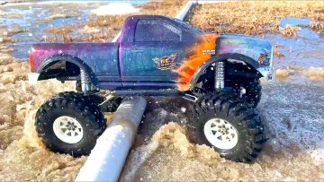 DODGE RAM 1500 4×4 in MUD SOUP – KEEP CALM, & HOBBY ON! SPRiNG CHOCOLATE MiLK MUD | RC AVONTUREN