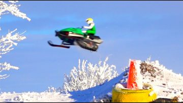 RC ADVENTURES – Brushless Snowmobile & Jump – 3s Lipo ART ATTACK Electric Kit