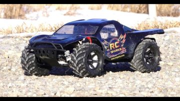 AVENTURAS RC – MONSTER TRAXAS SLASH 4×4 HCG, 3s Lipo, 2.8 Masher Tires