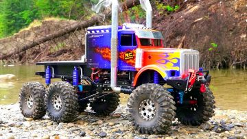 RC AVONTUREN – OPTiMUS OVERKiLL – ROCK WATER RECON – 6x6x6 Semi Truck