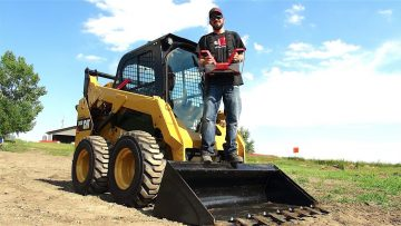 The LARGEST RC I've Operated – FULL SiZE Radio Control SKiD STEER | RC ADVENTURES