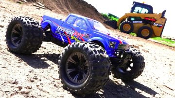 RC ADVENTURES – HOBAO HYPER MT Sport Plus 4×4 on 4S LiPO & RC Skid Steer w/ TORC Robotics
