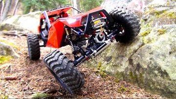 RC AVENTURI – DiSCOVERiNG the CAPO ACE 1 4×4 RC Truck / Rock Buggy – 1/10th Scale Triumph Testing