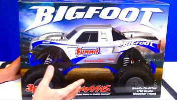 RC AVANTURE – UNBOXiNG a TRAXXAS 1/10th BiGFOOT & UPGRADiNGS! PT 1