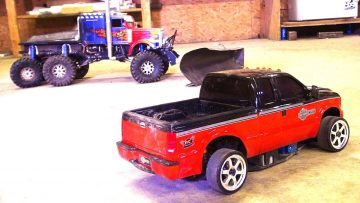RC AVANTURE – Making a Drift Truck – Harley Davidson F350 SUPER DUTY