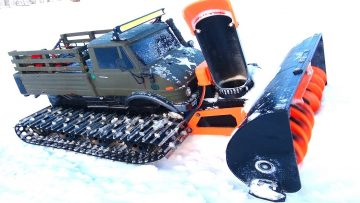 RC ΠΕΡΙΠΈΤΕΙΕς – Snow Machine doing Work! This Uni-Blower is SUPER COOL!