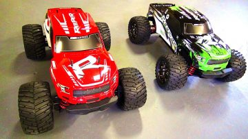 """AVENTURAS RC – New CEN Racing """"REEPER"""" 1/7th scale RC Monster Truck!  Lets Unbox it / Colossus XT"""