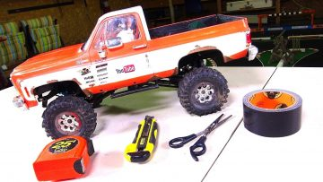 CHEAP RC Truck Mod: Making Inner Wheel Wells the Easy Way! | RC EVENTYR