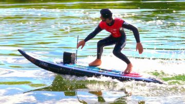 RC SURFBOARD – VERY Fast & Upgraded! KYOSHO Surfer 3.0 – PRZYGODY RC