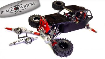 """""""BLACK WiDOW"""" BUSTED on CAMERA : POiSON SPiDER AXLE SWAP – ViNTAGE VANQUiSH PRODUCTS 