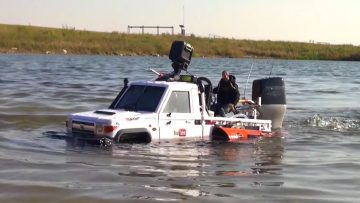 RC EVENTYR – TOYBOTA PROJECT -TOP GEAR TRUCK BOAT TRiBUTE! PT9