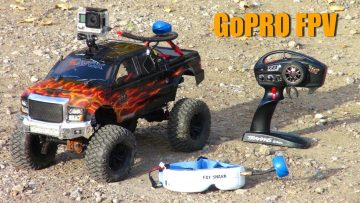 RC AVANTURE – Backyard Scale Course – FPV TRAXXAS TRX4 – GoPro HERO DVR / Fat Shark / ImmersionRC
