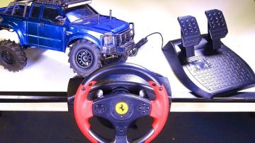 RC ΠΕΡΙΠΈΤΕΙΕς – RACE WHEEL MOD – for RC! Playstation, XBox, Pc, Rc? Thrustmaster – Ραδιόφωνο – Spektrum