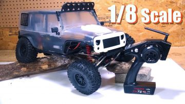 "RC ADVENTURES – REDEFiNE TRAiL CRAWLiNG! Unboxing a 1/8th scale ""CRAGSMAN"" 4×4 – TRACTiON HOBBY"