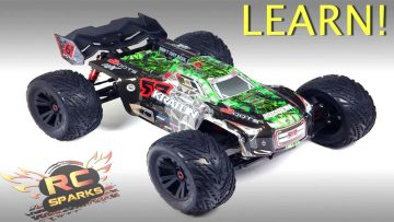 10 Important Parts to Know about Electric Monster Trucks | AVENTURAS RC