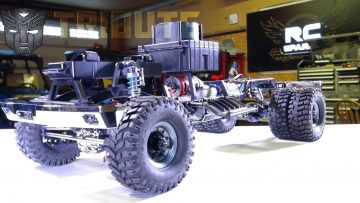 RC ΠΕΡΙΠΈΤΕΙΕς – PROJECT: BUMBLEBEE-ST PT 3: DUALLY TiRES & AXLE iNSTALL – FULL ROLLER