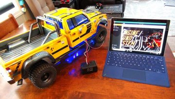 "RC 冒险 – TUNiNG the DiESEL ENGiNE & TURBO for BUMBLEBEE-ST! PROGRAMMiNG ""ESS-DUAL"" – PiCKUP"