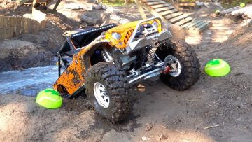 MUDDY JK MAX JEEP – GOING DEEP in the Backyard Scale Park | AVENTURAS RC