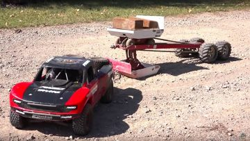 TRAXXAS UDR PULLS the JUDGE! Weight Sled – 30 FT Tractor Pull | AVENTURAS RC