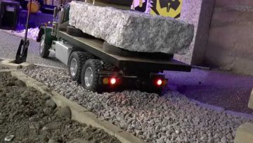 R/C TRUCK KING HAULER , rc truck action at private Pacoure