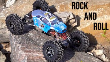 "INCREDiBLE ""XR10 ROCK MACHiNE"" can LOCK-OUT AXLES & CONFORM to Near-VERTiCAL Terrain 