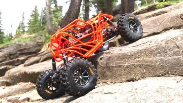 RC AVENTURI – LEARNiNG to ROCK BOUNCE – TANGO – MOA REAR STEER BOUNCER