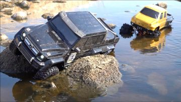 AVVENTURE RC – NEVER GO WHEELiN ALONE : WiNCH RESCUE TRAXXAS MERC G500 TRX6 6X6 & PROJECT OVERKiLL