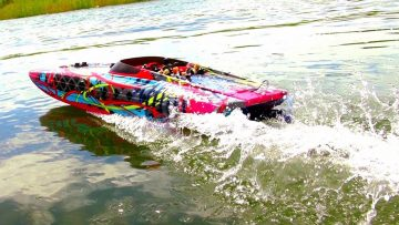 "TRAXXAS M41 40"" Speed Boat THRiLL RiDE – 6S Lipo POWER! 